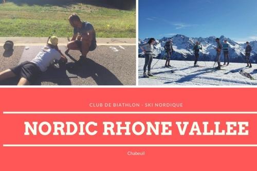 Le club Nordic Rhône Vallée